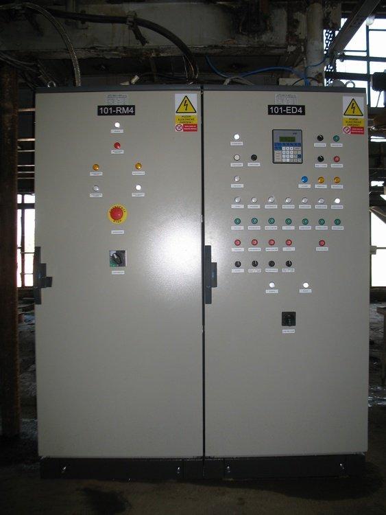 Switchboard control COV<br />Spolchemie Usti